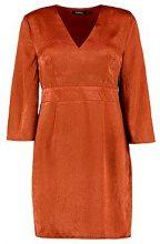 Flo Wide Sleeve Satin Tie Detail Shift Dress
