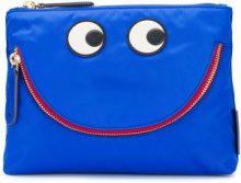 Anya Hindmarch - Borsellino 'Happy Eyes' - women - Nylon - OS - BLUE