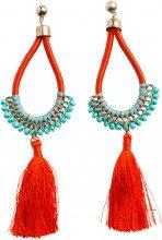 PIECES Tassel Earrings Women Gold