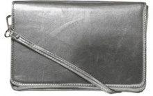 PIECES Small Crossbody Bag Women Silver