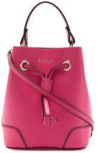 Furla - mini bucket bag - women - Calf Leather - OS - PINK & PURPLE