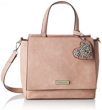 Tamaris Milla Handbag - Borse a secchiello Donna, Pink (Rose), 10x24x25 cm (B x H T)