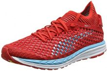 Puma Speed Ignite Netfit, Scarpe Sportive Outdoor Donna, Rosso (Poppy Red-Nrgy Turquoise-White), 40.5 EU