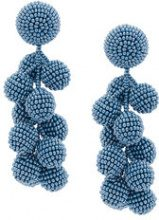 Sachin & Babi - Coconuts earrings - women - glass - One Size - BLUE