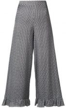 Isabelle Blanche - polka dot printed trousers - women - Viscose - XS, S, M - WHITE