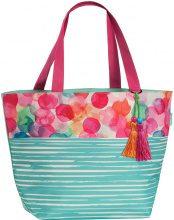 Shopper con nappe colorate