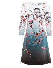 Abito con stampa a fiori di ciliegio giapponese
