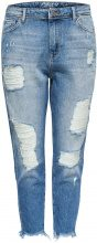 ONLY Tonni Destroyed Boyfriend Jeans Women Blue