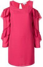 Patrizia Pepe - Vestito con spalle scoperte - women - Polyester - 42, 44, 46, 48 - PINK & PURPLE