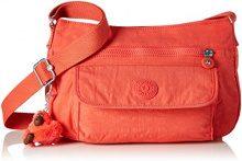 Kipling Syro - Borse a tracolla Donna, Orange (Galaxy Orange), 31x22x12.5 cm (B x H T)