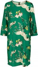 Y.A.S Floral Mini Dress Women Green