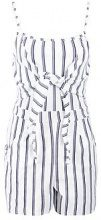 Hailey Tie Front Striped Playsuit