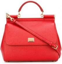 Dolce & Gabbana - Borsa a spalla 'Sicily' - women - Calf Leather - One Size - RED