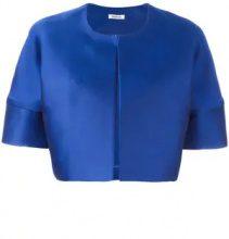 - P.A.R.O.S.H. - Pica cropped jacket - women - Silk/Polyester - XXL, XXXL, S - Blu