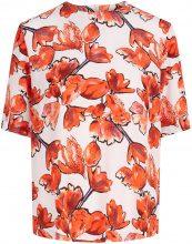 Y.A.S Floral Short Sleeved Top Women Orange