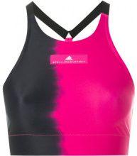 Adidas By Stella Mccartney - Top corto - women - Recycled Polyamide/Polyester/Spandex/Elastane - XS, S, M, L, XXS - PINK & PURPLE