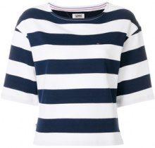 Tommy Hilfiger - striped top - women - Cotton - XS - BLUE