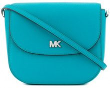 Michael Michael Kors - Dome crossbody bag - women - Leather - One Size - BLUE