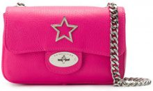 Marc Ellis - Borsa a spalla 'Amy' - women - Leather - OS - Rosa & viola