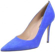 SJP by Sarah Jessica Parker Fawn, Scarpe con Tacco Donna, Blu (Azzurro Blue Suede), 35.5 EU