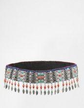 ASOS - Cintura con catena con foglie e perline