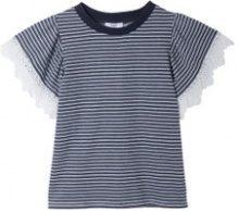 T-shirt righe e pizzo SUZY