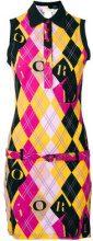 Christian Dior Vintage - Vestito 'Argyle' - women - Cotone - 36 - Multicolore
