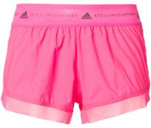 Adidas By Stella Mccartney - Shorts 'Run' - women - Polyester - XS, M, S, L - PINK & PURPLE