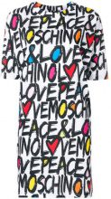 Love Moschino - Vestito modello t-shirt - women - Cotton - 38, 42, 40 - WHITE