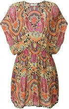 Etro - printed mini dress - women - Viscose - 42, 44 - MULTICOLOUR