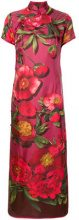 F.R.S For Restless Sleepers - Vestito con stampa a fiori - women - Silk - M, L, S - RED