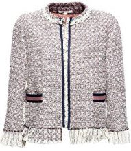 ESPRIT 028ee1g016, Giacca Donna, Multicolore (Off White 110), X-Small