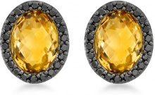 Carissima Gold - Orecchini a Lobo da Donna in Oro Giallo 9K (375) con Diamante