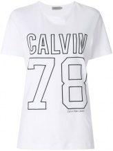 Calvin Klein Jeans - T-shirt con logo sport - women - Cotton - XS, S, M, L, XL - WHITE