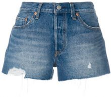 Levi's - Shorts in denim - women - Cotton - 25, 26, 27, 29, 32, 24, 28, 30, 31 - BLUE