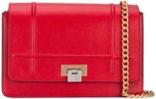Visone - Lizzy medium shoulder bag - women - Leather/metal - OS - RED