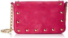 MENBUR Camarda - Borse a tracolla Donna, Pink (Bouganvilla), 5x20x19 cm (B x H T)