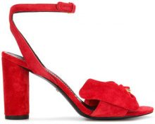 Stella Luna - Sandali con fiocco - women - Leather/Suede - 35.5, 36, 36.5, 37, 37.5, 38, 38.5, 39, 39.5, 40 - RED