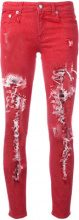 R13 - Kate skinny jeans - women - Cotton/Spandex/Elastane - 26, 27, 25, 28, 29 - RED