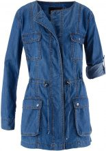 Giacca lunga in jeans (Blu) - bpc selection