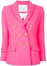 Giada Benincasa - Blazer doppiopetto - women - Viscose/Wool - XS, S, M, L - PINK & PURPLE