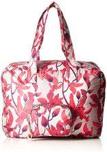Oilily Enjoy Travelbag Shz - Borse da spiaggia Donna, Rot (Dark Red), 21.5x36x48 cm (B x H T)