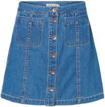 VERO MODA Feminine Denim Skirt Women Blue