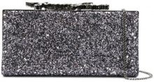 Jimmy Choo - Borsa Clutch 'Celeste' - women - Sequin/metal/glass - One Size - METALLIC