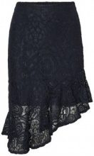 VERO MODA Hw Lace Skirt Women Blue