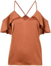 Pinko - Blusa con maniche scese - women - Polyester - 40, 44, 42 - BROWN