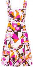 Emilio Pucci - Abito corto in cotone piquet - women - Cotone/Acetate/Viscose - 38, 40, 44, 46, 42 - Multicolore