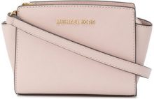 Michael Michael Kors - Borsa a tracolla con logo - women - Leather - One Size - PINK & PURPLE