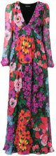 Twin-Set - Vestito lungo - women - Polyester/Viscose - 42, 40 - MULTICOLOUR