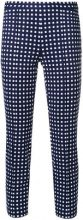 - Michael Michael Kors - Pantaloni a sigaretta - women - fibra sintetica - L - di colore blu